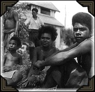 Native children in New Guinea during WWII.
